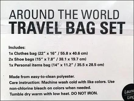 Travel Bag Luggage Icons