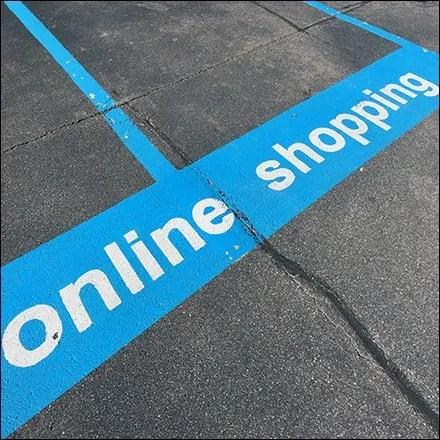 Online Shopping Merits Off-Street Parking