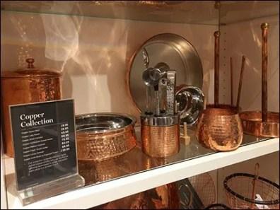 William Sonoma Copper Tableware and Copper Collection Pricing Strategy