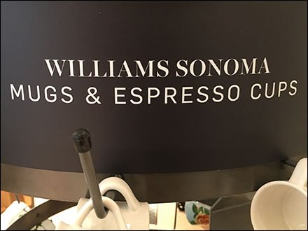 William Sonoma Mug and Cup Spinner Rack
