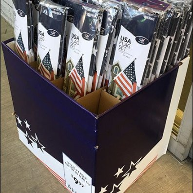 American Flag Patriotic POP 2