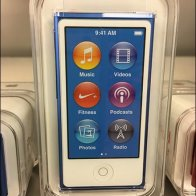 Apple iPod Shelf-Edge Color Merchandising