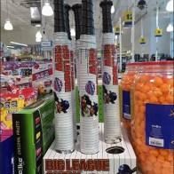Big League Gumball Baseball Bat Packaging