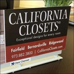 California Closets Showroom Billboard Advertising Feature