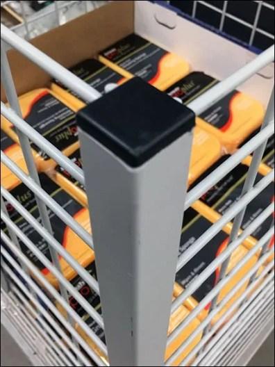 Corner Capped Hardware Bulk Bin 3