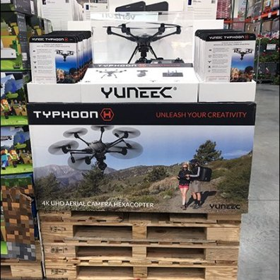 Drone Museum Case For Pallet Merchandising