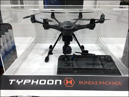 Drone Store Fixtures and Merchandising - Drone Museum Case For Pallet Merchandising