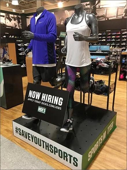Dicks Sporting Goods Deploys Athleisure Hiring
