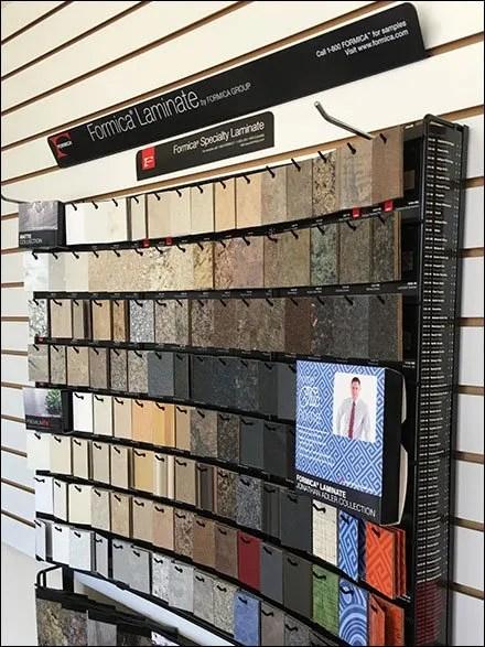 Formica Sample Board Chip Locator List