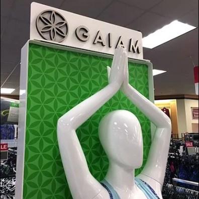 Gaiam Athleisure Yoga Lifestyle Freestanding