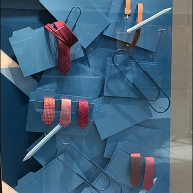 Hermes Back-To-School In Blue Paperclip