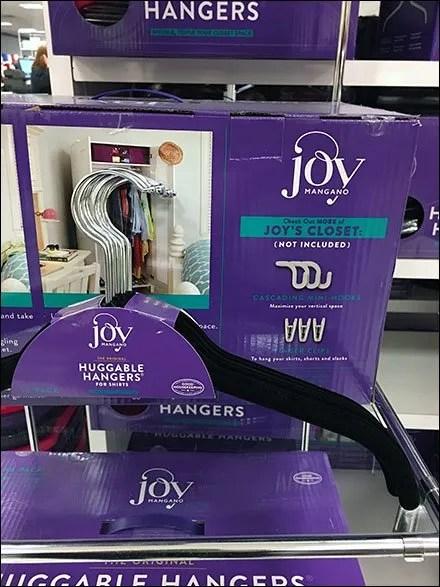Joy Huggable Hangers Display Tower