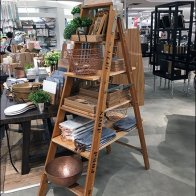 Step Ladder Merchandising Prop At Macy's