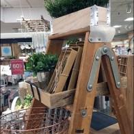 Step Ladder Merchandising Prop At Macy's