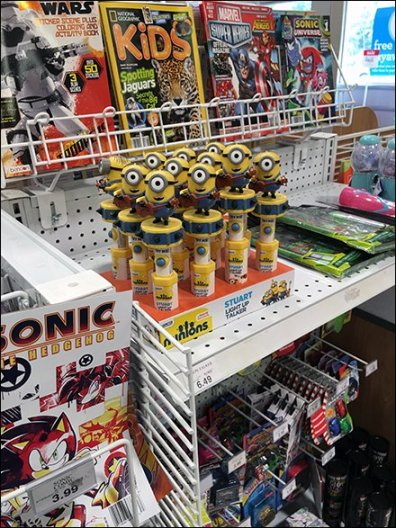 Minions March As Shelf-Edge Point-of-Purchase