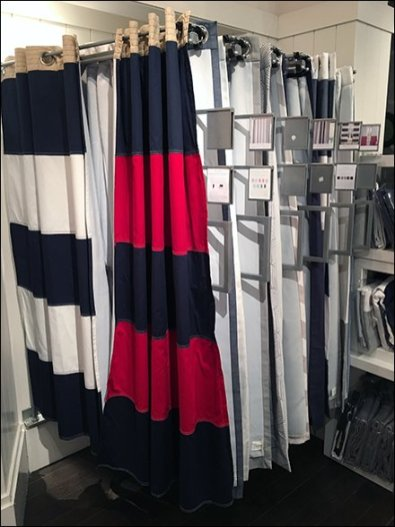 Window Treatment Fixtures For Retail