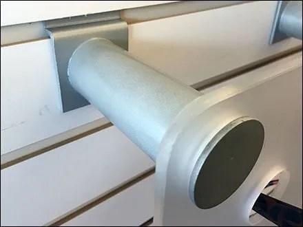 Sunglass Slatwall Standoff Support for Endcap