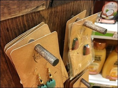 Wood Peg for Natural Wood Jewelry Spinner
