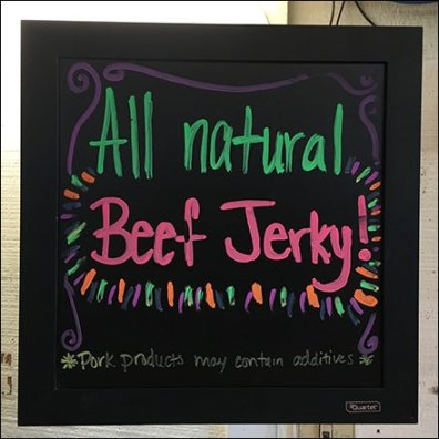 All Natural Beef Jerky Spinner Tower Feature