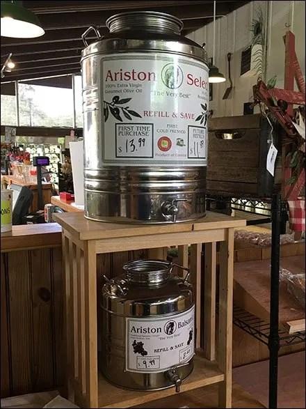 Artisan Olive Oil and Vinegar by The Keg