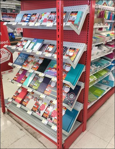 Back-To-School Endcap For Academic Planners