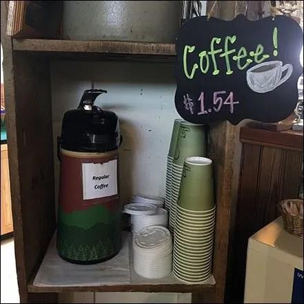 In-Store Coffee Chalkboard
