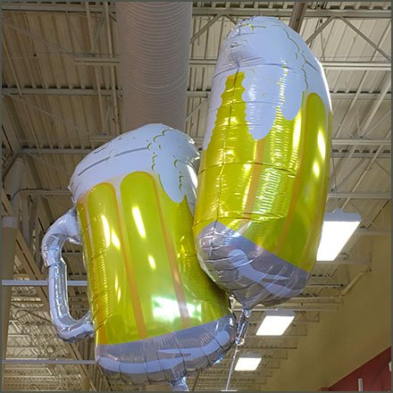 High-Flying Coronita Cold Beer Mug Inflatables