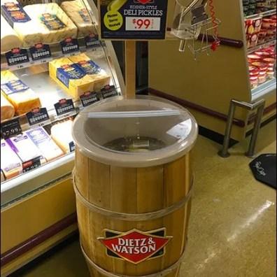 Dietz & Watson Pickle Barrel Upgrade