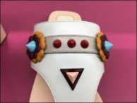 Fendi Summer Sandal Monster Faces