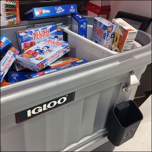 Igloo Cooler Do-It-Yourself Visual Merchandising