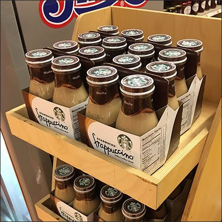Starbucks Beverage Display Takeover