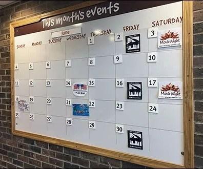 Market Cafe Calendar of June Entertainment