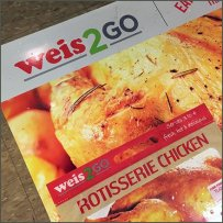 Weise2Go Grab-and-Go Floor Graphic