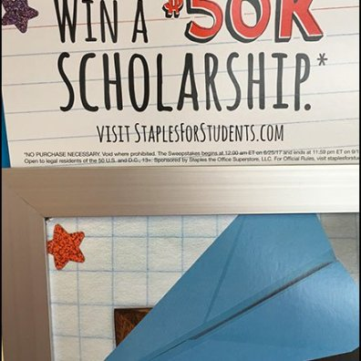 In-Store Back-To-School Scholarship Deal