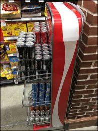 Coca-Cola Vending Machine Rack 2