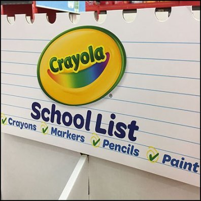 crayola back to school category definition