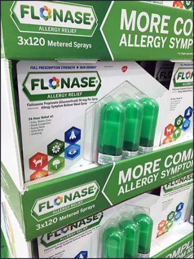 Flonase Allergy Relief By The Pallet-Load