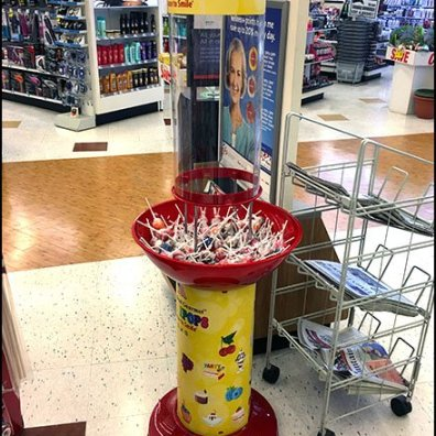 Original Gourmet Gravity-Feed Lollipop Tower