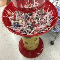 Original Gourmet Gravity-Feed Lollipop Tower
