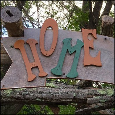 Home of The Gnomes Entry Welcome Feature