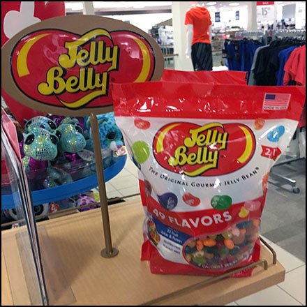 Jelly Belly Jelly Bean Store Fixtures Branded Serpentine Tower