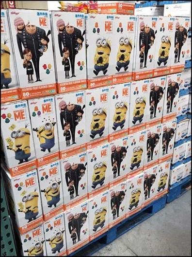 Kellogs Despicable Me Minion Snacks 2