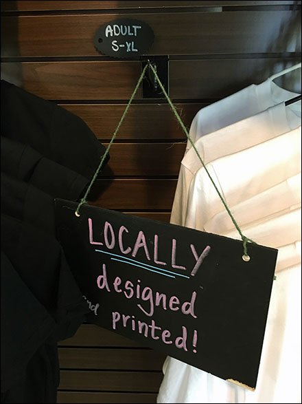 Locally Designed and Printed T-Shirts