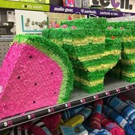 Pinata Party Favor Shelf Edge Merchandising