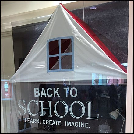 Back-To-School Tent At Pottery Barn Kids