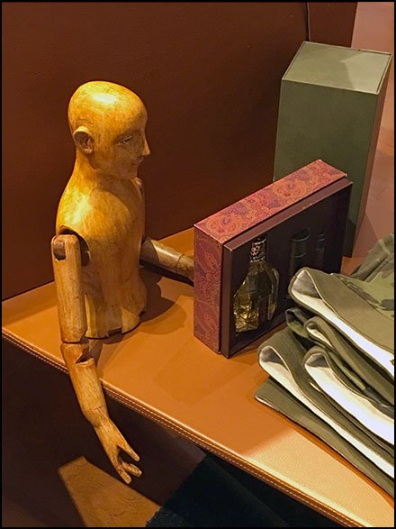 Robert Graham Mini Wood Mannequin Prop