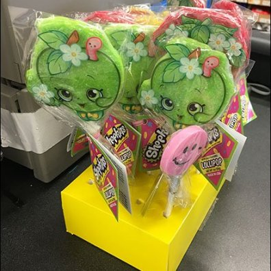 Shopkins Cashwrap Miniature Lollipop Display