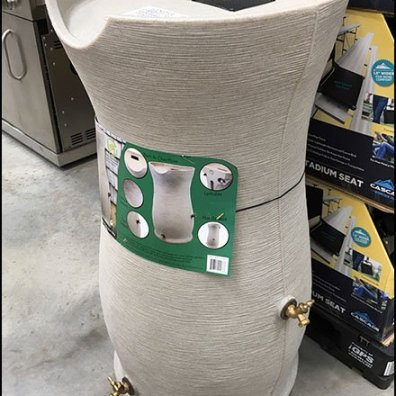 Designer Rain Barrel Merchandising Hero