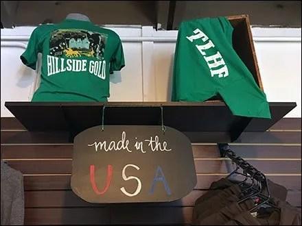 T-Shirt Country of Origin Chalkboard