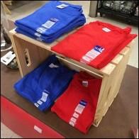 T-Shirt Wood Crate Merchandising Feature